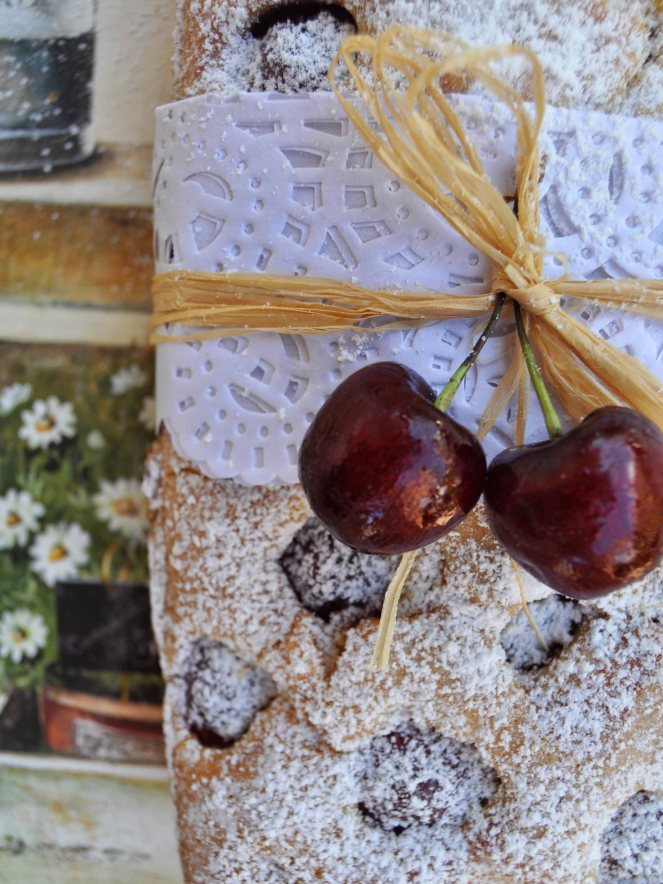 Plumcake ciliegie e fragole (3)