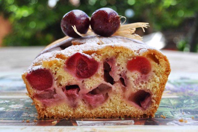 Plumcake ciliegie e fragole (7)