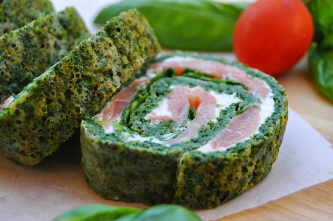 rotolo spinaci basilico e salmone affumicato (9)