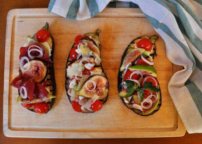 melanzane arrosto con fichi e pomodorini (10)