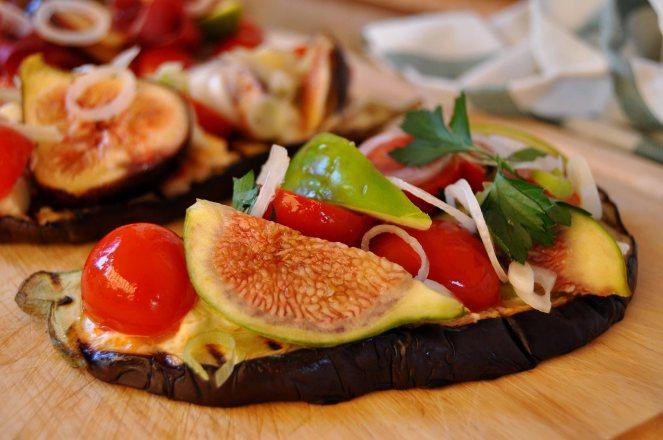 melanzane arrosto con fichi e pomodorini (16)