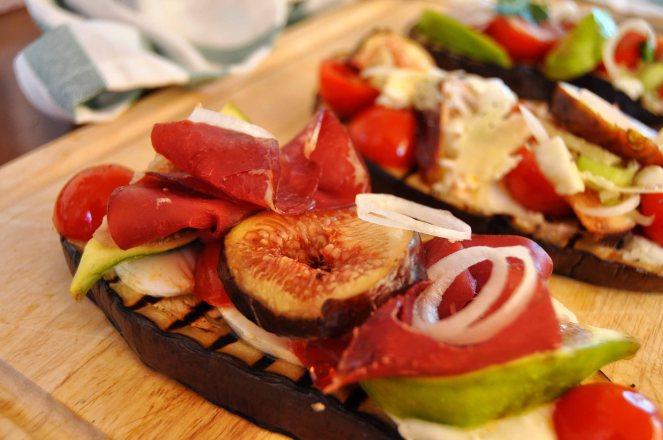 melanzane arrosto con fichi e pomodorini (17)