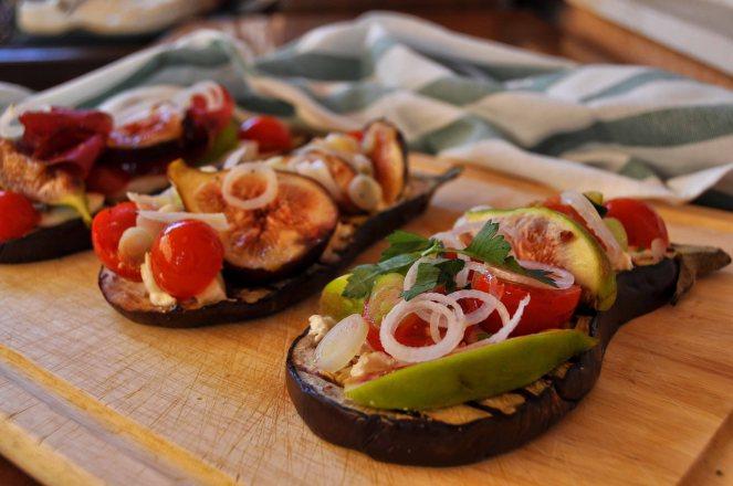 melanzane arrosto con fichi e pomodorini (5)
