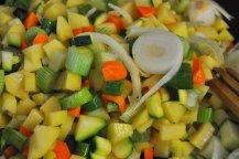 pancakes salati con patate e verdure (3)
