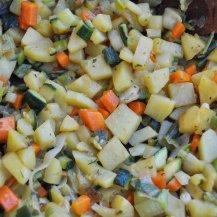 pancakes salati con patate e verdure (4)