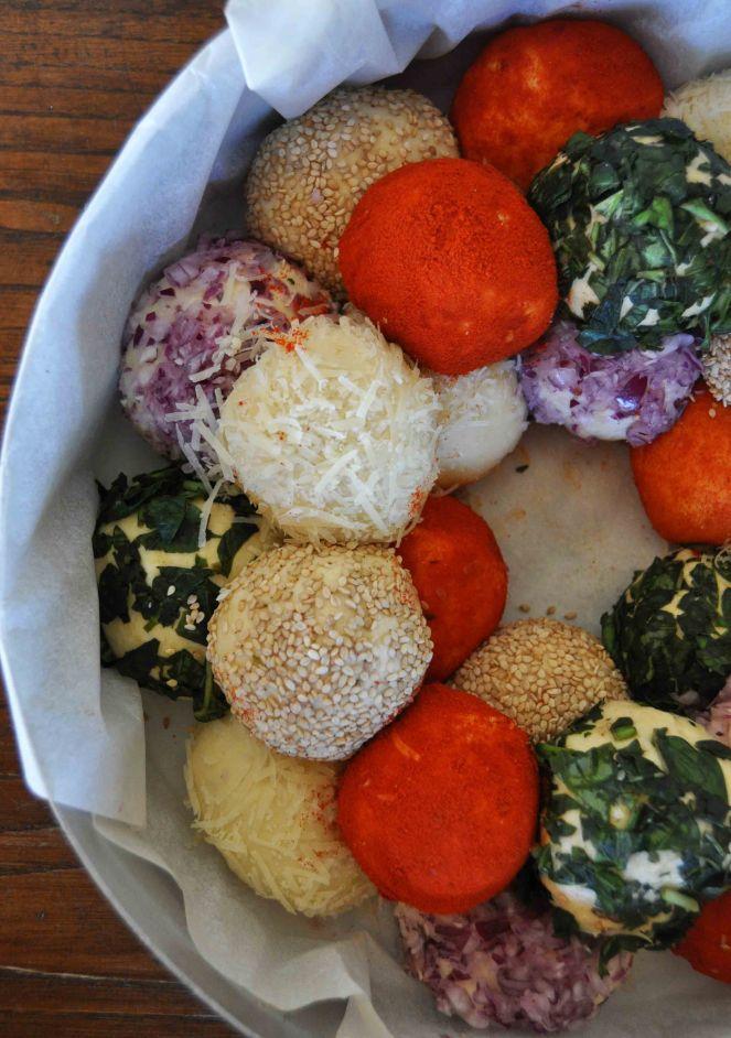 Monkey bread salato, danubio salato, danubio decorato (11)