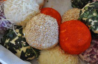 Monkey bread salato, danubio salato, danubio decorato (12)