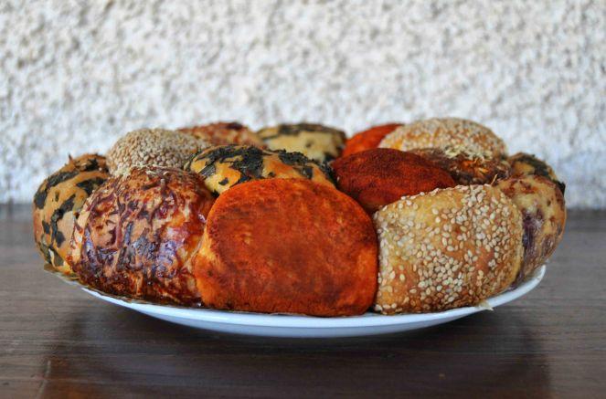 Monkey bread salato, danubio salato, danubio decorato (18)