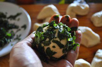 Monkey bread salato, danubio salato, danubio decorato (6)