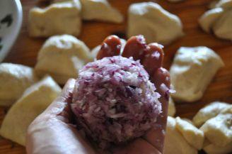 Monkey bread salato, danubio salato, danubio decorato (7)