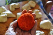 Monkey bread salato, danubio salato, danubio decorato (9)