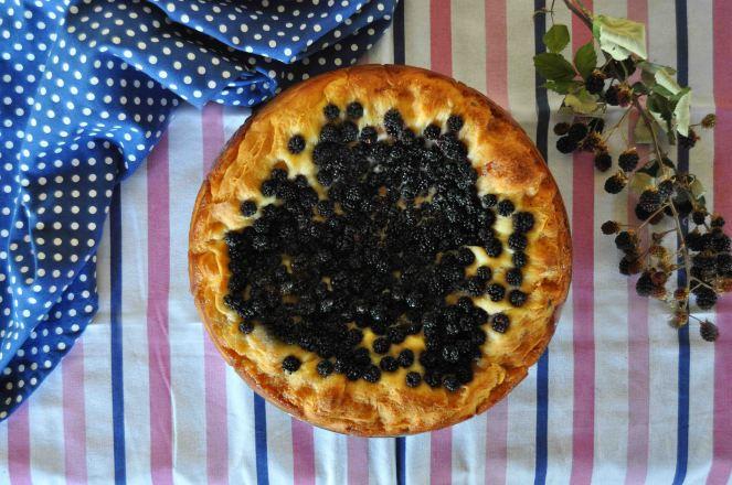 torta brioche mascarpone e more selvatiche (2)