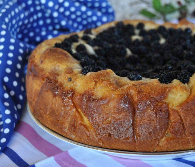 torta brioche mascarpone e more selvatiche (3)
