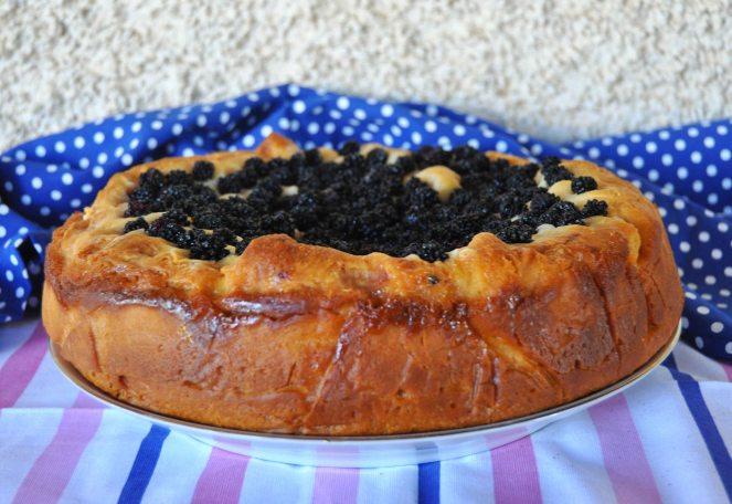 torta brioche mascarpone e more selvatiche (4)