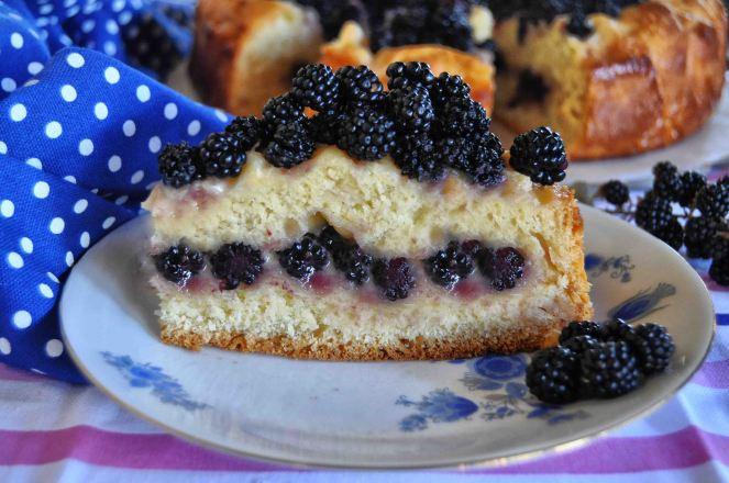 torta brioche mascarpone e more selvatiche (9)