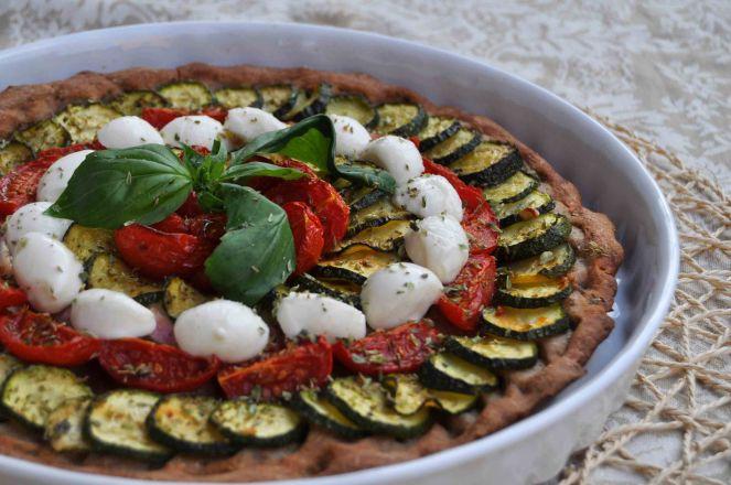 torta salata integrale zucchine e datterini (14)