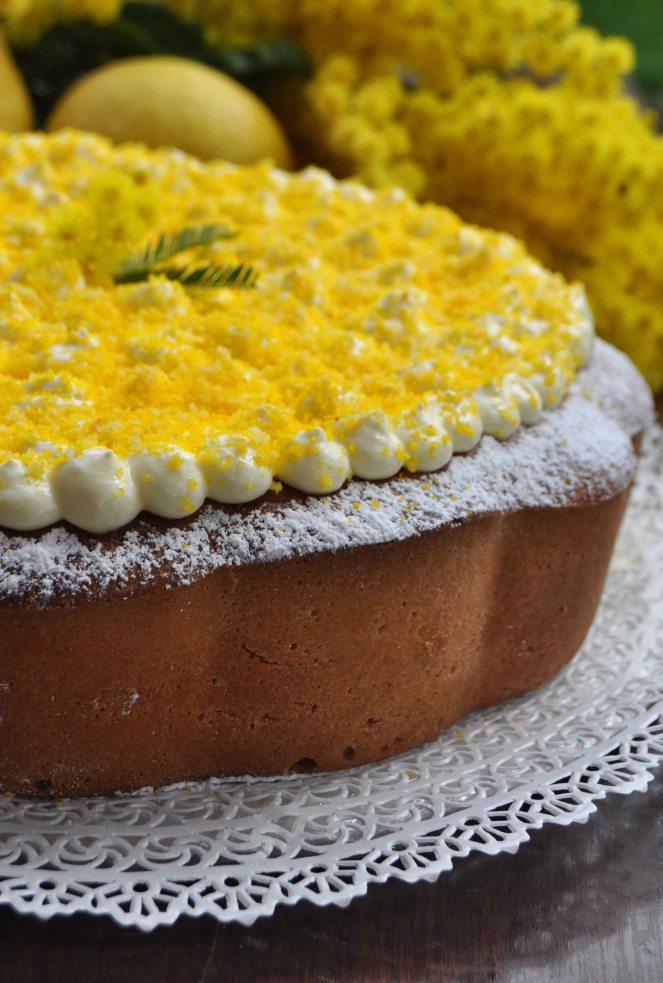 torta mimosa di albumi alla crema al limone (11)