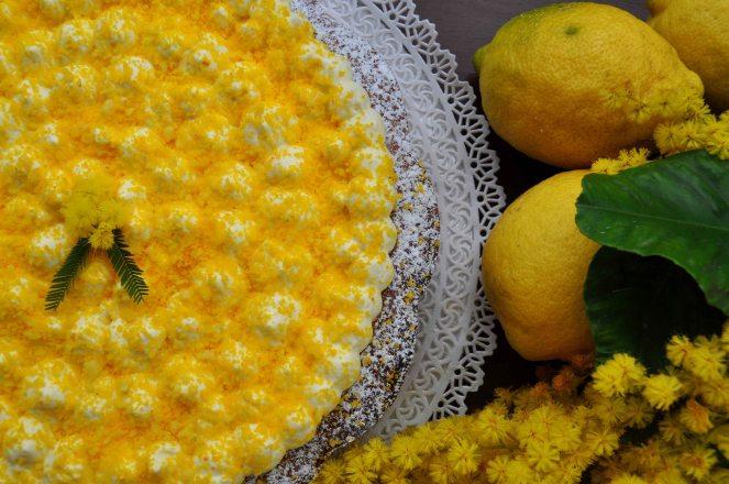 torta mimosa di albumi alla crema al limone (18)