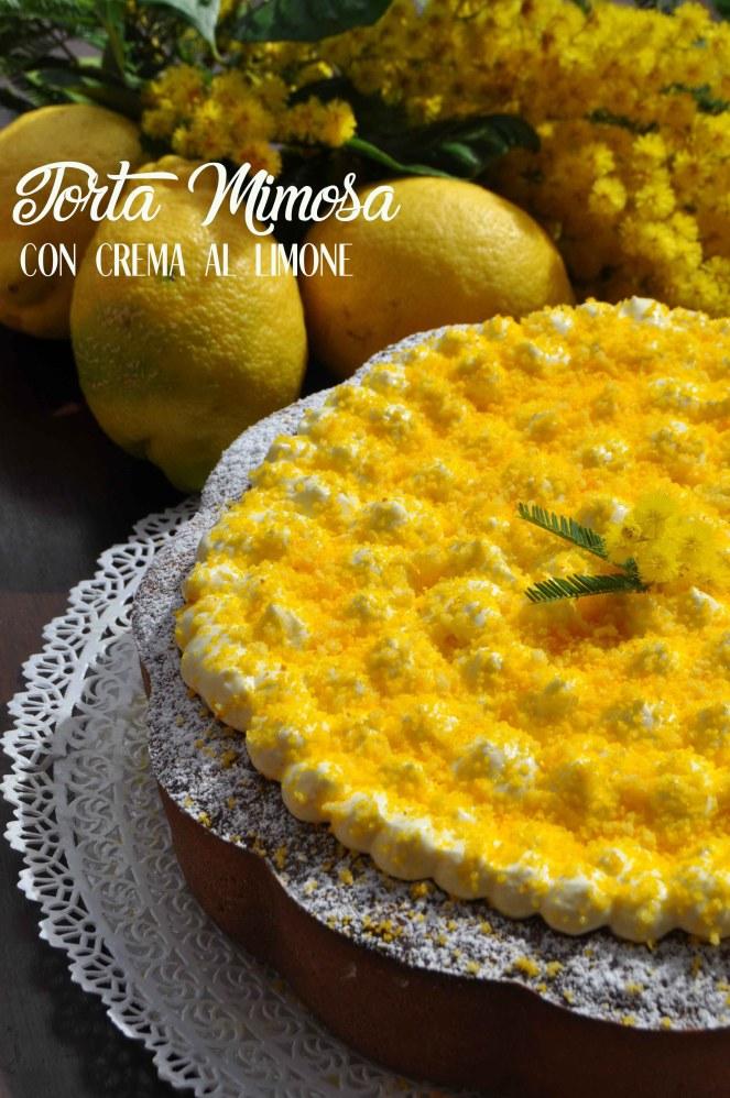 torta mimosa di albumi alla crema al limone (7) test