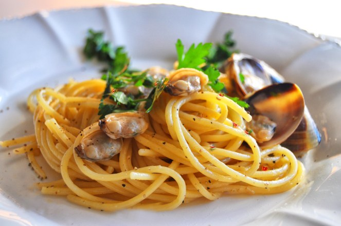 spaghetti alle vongole cremosi (3)
