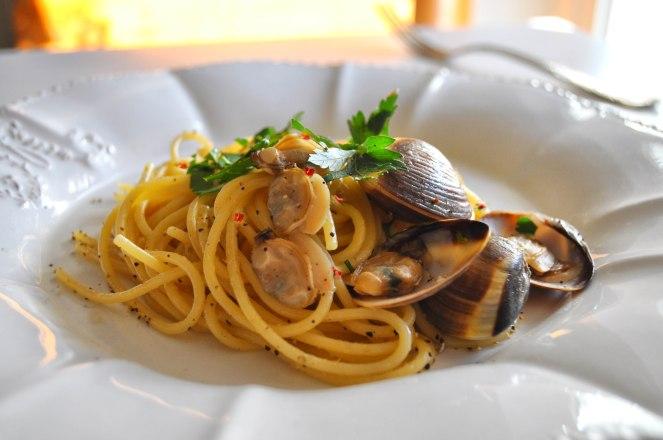 spaghetti alle vongole cremosi (6)