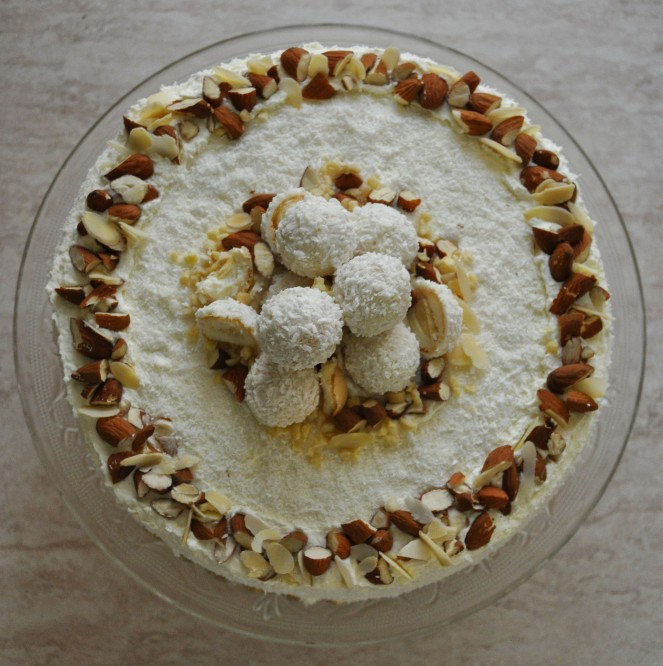 Torta Raffaello (16)